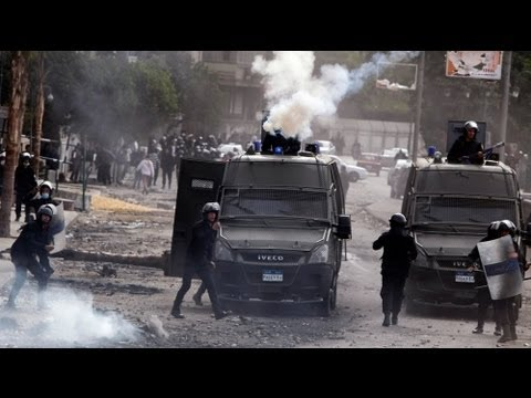 Deadly protests continue in Egypt