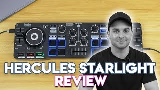 Hercules DJControl Starlight Review - Good For New DJs?