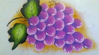 Pintando uvas com Lia Ribeiro