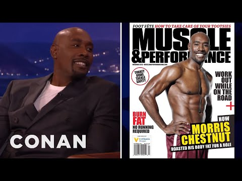 "Morris Chestnut: My Shirt Comes Off A Lot In ""Rosewood""  - CONAN on TBS"