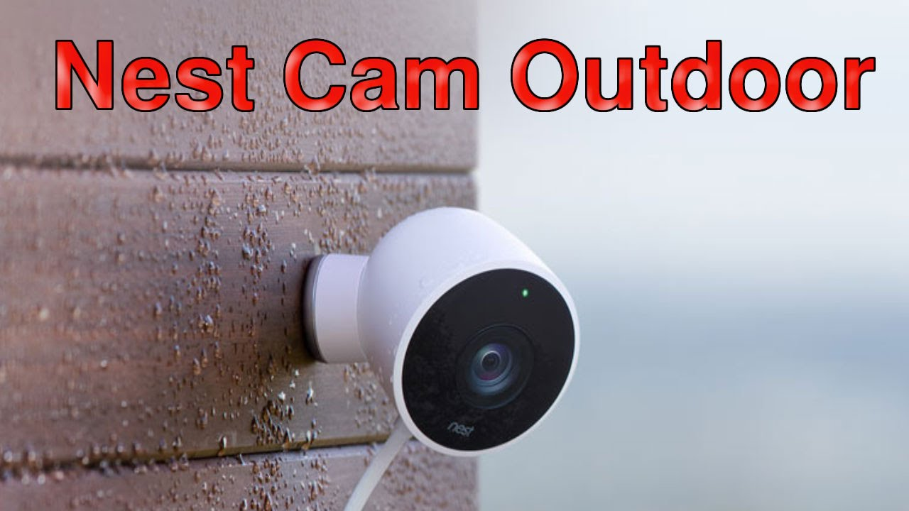 nest cam outdoor google 39 s nest labs launches its first outdoor security camera nest cam. Black Bedroom Furniture Sets. Home Design Ideas