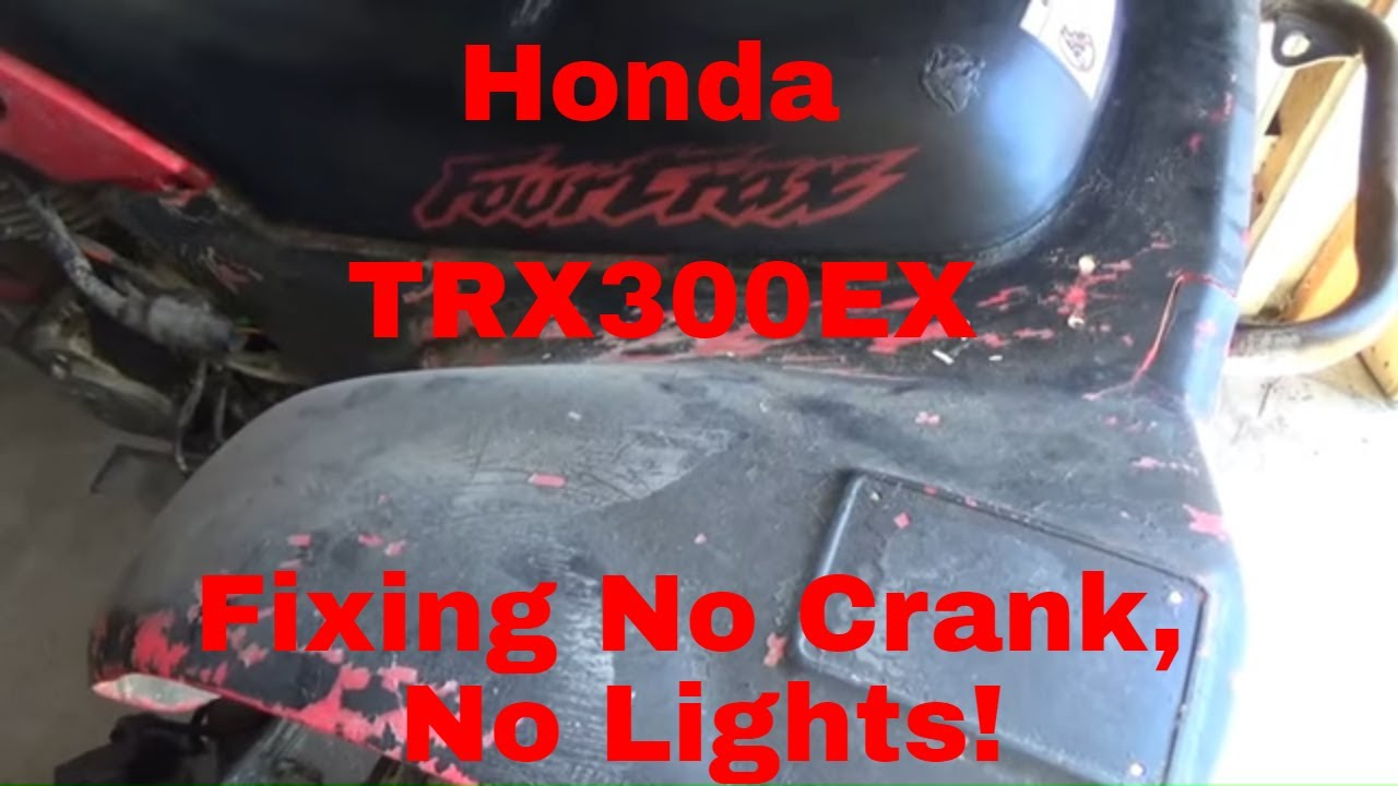 [SCHEMATICS_4LK]  No Lights, No Crank Honda ATV, Fixing the 12 Volt Side of the Wire Harness!  - YouTube | Honda Atv Wiring Harness |  | YouTube