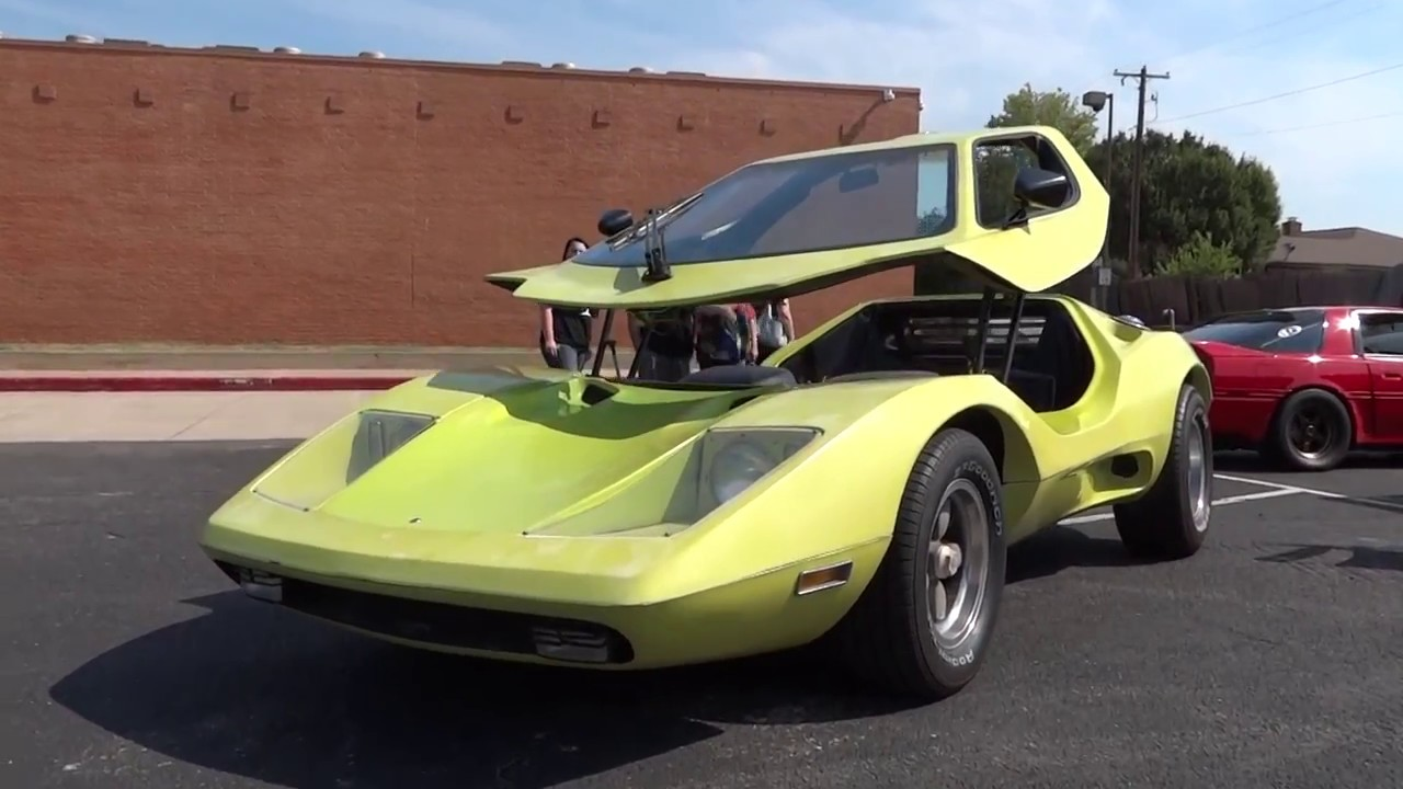 Awesome 1978 Sterling Kit Car With Canopy Door Youtube