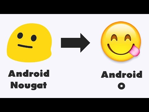 Get Android O Redesigned Emojis On Any Android !
