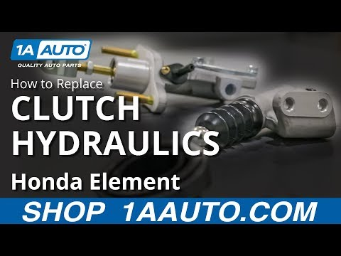 How to Replace Clutch Master & Slave Cylinders 03-11 Honda Element