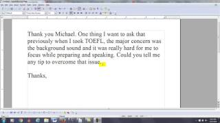 TOEFL Speaking Tip for Background Noise at Testing Center | The 7-Step System to Pass the TOEFL iBT