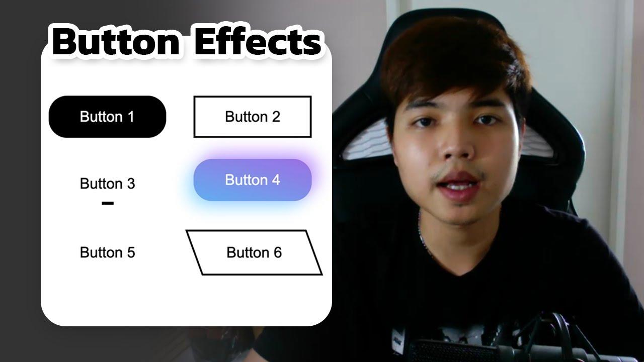 เขียน CSS ให้โปร ✨ สร้างลูกเล่นให้กับ Button ด้วย Before \u0026 After ( Pseudo elements )