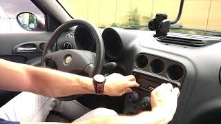 Changing the dashboard backlight on my Alfa Romeo 156