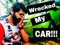 Wrecked my car | Vlog | How my car got wrecked | How I wrecked my car | K.S.O Designs