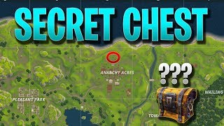 SECRET ANARCHY ACRES CHEST | Fortnite Battle Royale