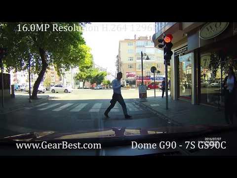 Dome G90 - 7S GS90C Car DVR Recorder 1080p 1296p HD dash cam