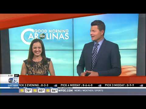Amanda Live at Mad Science - Good Morning Carolinas - WPDE ABC 15