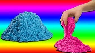 Kinetischen Sand selber herstellen - DiY