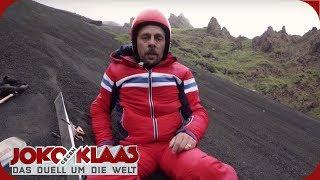 Italien/Sizilien: Skifahren auf dem Ätna | Joko gegen Klaas - Das Duell um die Welt | ProSieben