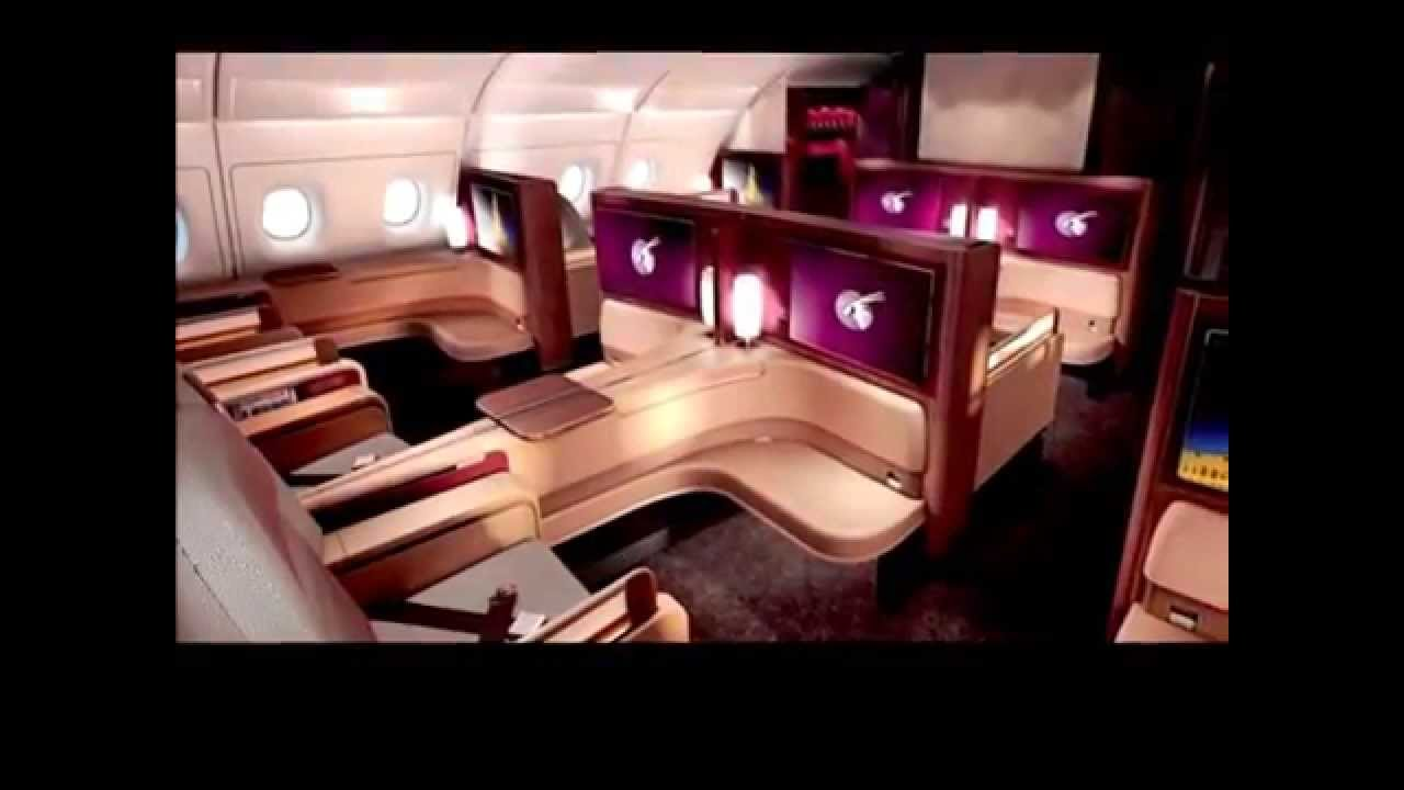 THE WORLDS BEST FIRST CLASS AIRLINE SEATS REVEALED
