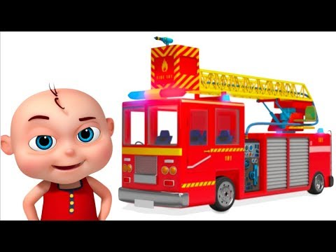 Download Youtube: Fire Truck Assembly Video For Kids | Learn Emergency Vehicle Construction | Videos For Toddlers