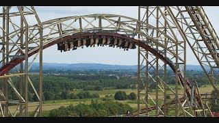 Energylandia Amusement Park Attraction 2019 Official Promo/ Zadra Wooden Coaster