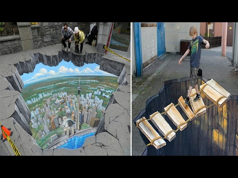 Most Amazing 3D Street Art From Around The World