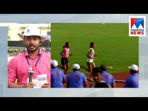 Kerala state school Sports meet: Anumol Thampy won double  Gold  | Manorama News