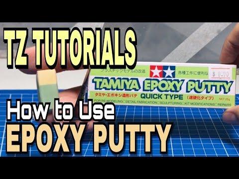 TZ TUTORIALS - HOW TO USE: Epoxy Putty