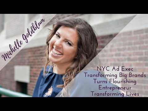 Michelle Goldblum: NYC Ad Exec Turned Entrepreneur