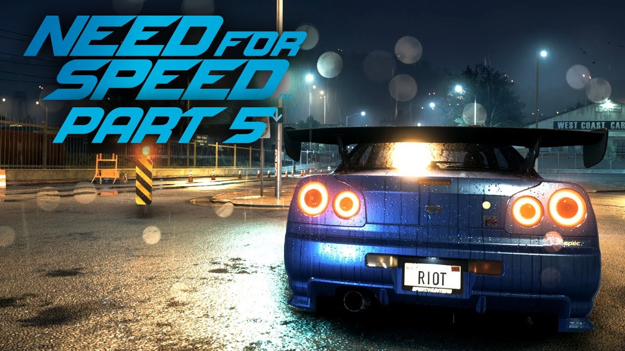 NEED FOR SPEED 2015 Gameplay Teil 5 - NISSAN SKYLINE R34 + video