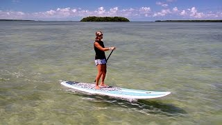 Paddleboarding in Florida Keys