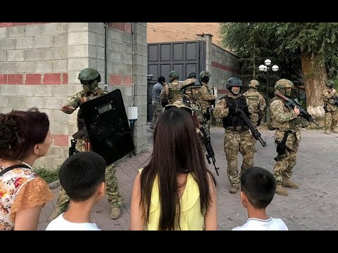 Штурм дома Алмазбека Атамбаева. Главное. Спецназ штурмует дом бывшего президента Киргизии.