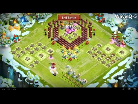 Castle Clash - Farming HBM Q *No Garrison*