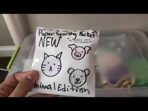Paper squishy Packet (skit)