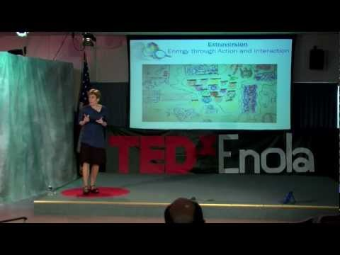 Neuroscience, Jungian Type and Mathematics--Insights into Student Struggles: Jane Kise at TEDxEnola