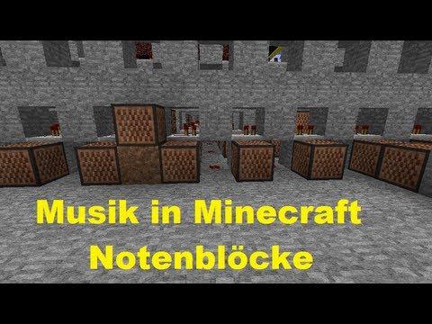 Musik in Minecraft via Notenblöcke ohne mods [ HD | Deutsch | Tutorial ]