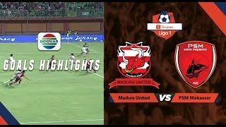 Madura United (2) vs PSM Makasar (0) - Goal Highlights | Shopee Liga 1
