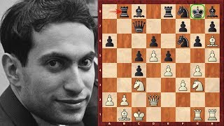 Amazing Chess Game : Mikhail Tal vs Alexander Tolush – 1957 USSR ch – Kings Indian: Saemich