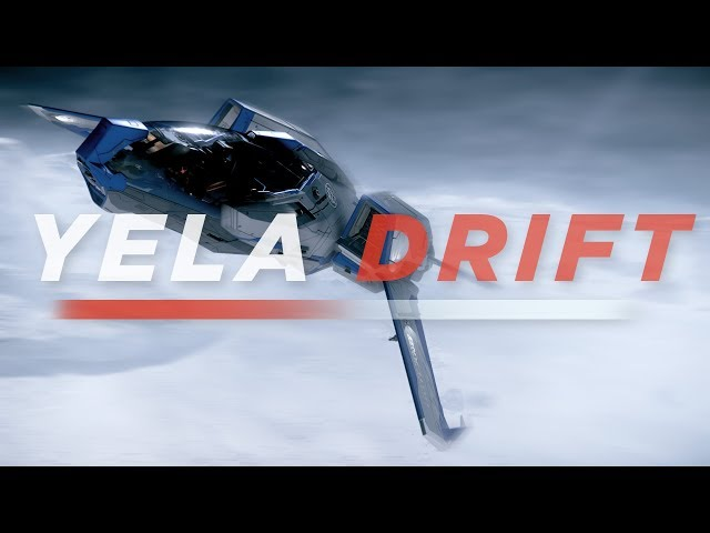 Yela Drift - Mustang Gamma [Star Citizen] FOIP (face tracking)