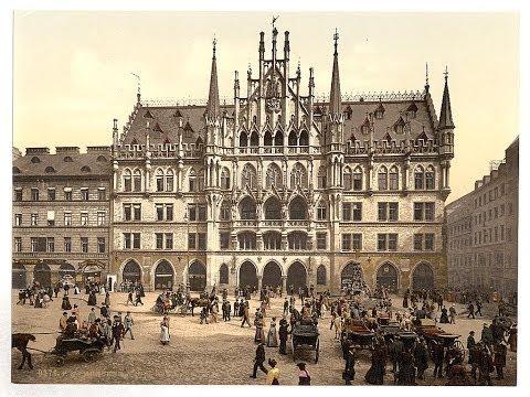 München um 1900 - Fotografische Reise in alte Zeiten - Munich - ミュンヘン -