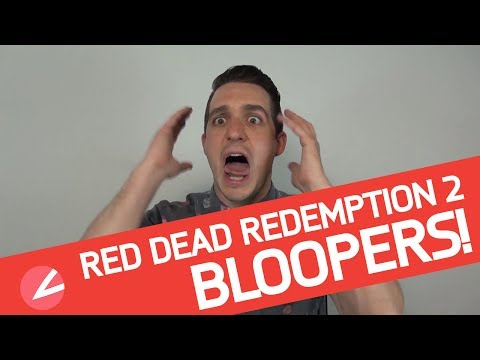 Bloopers - Il Fossa alle prese con Red Dead Redemption 2