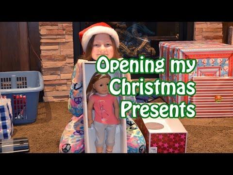 Christmas Presents 2014  American Girl & More  Bethany G