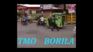 Dancing traffic in Tagum City