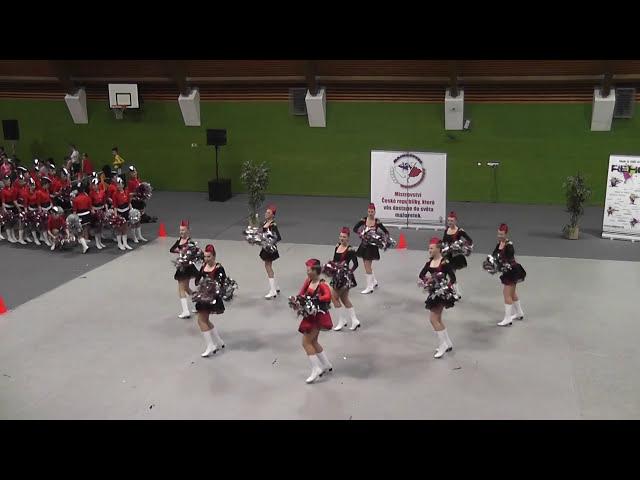 AP klub Brušperk - Top Teens / Mistrovství ČR mažoretek 2015 Jaroměř - Classic POM seniorky