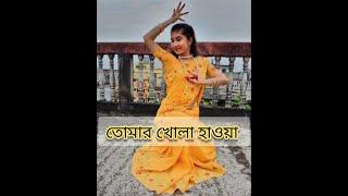 || Tomar Khola Haoa || Danced by Ashirbad