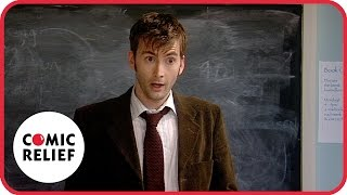 Repeat youtube video Lauren Cooper and David Tennant | Comic Relief