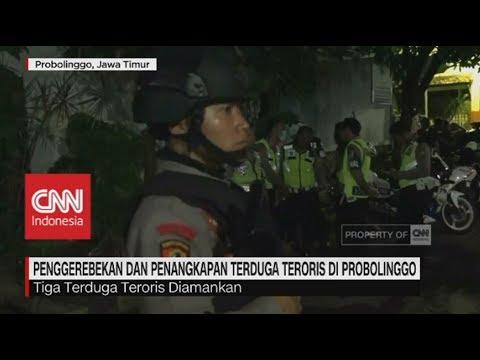 Penggerebekan & Penangkapan Terduga Teroris di Probolinggo