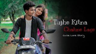Tujhe Kitna Chahne Lage Hum | Kabir Singh | Cute Love Story | Jeet | Arijit Singh | Besharam Boyz |
