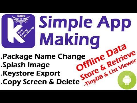 Simple Android App Making in Kodular.io | Tiny DB List Viewer | Android App kaise banaye | #Kodular thumbnail