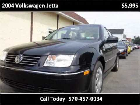 2004 Volkswagen Jetta Used Cars Old Forge PA