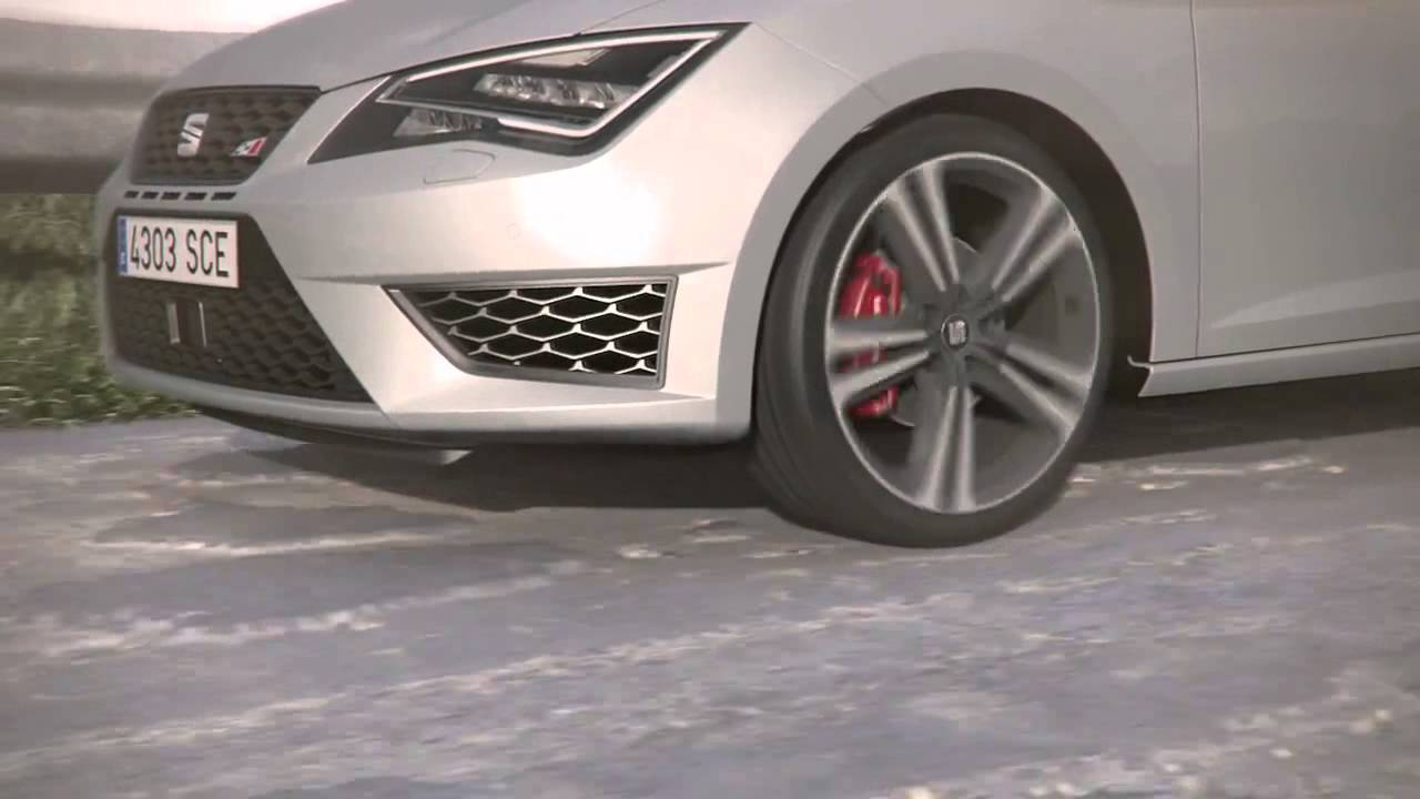 seat leon cupra dcc technology dynamic chassis control youtube. Black Bedroom Furniture Sets. Home Design Ideas