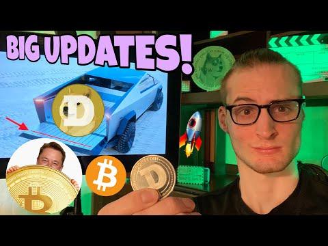 Dogecoin Devs New Updates! ⚠️ Cybertruck UPGRADE ⚠️ 1,000,000 Bitcoin 📈