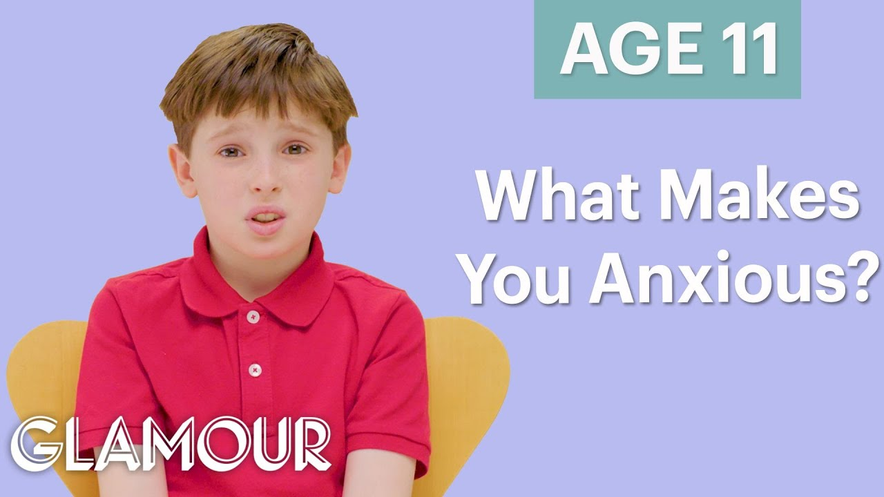 Men Ages 5-75: What Causes Your Anxiety? | Glamour