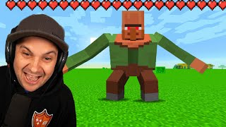 Fighting Minecraft Bosses 1000X Stronger! | Minecraft Mods